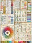 Pantone Charts Rice Paper - Atelier Des Arts - Stamperia