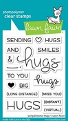 Long Distance Hugs Stamps - Lawn Fawn
