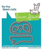 One In A Chameleon Flip-Flop Lawn Cuts - Lawn Fawn