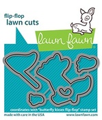 Butterfly Kisses Flip-Flop Lawn Cuts - Lawn Fawn