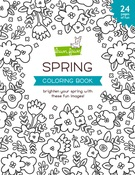 Spring Coloring Book - Lawn Fawn