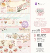 Magic Love Collection 12x12 Paper Pad - Prima