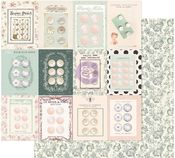 Partisan Buttons Paper - My Sweet - Prima