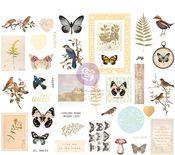 Nature Lover Chipboard Stickers - Prima