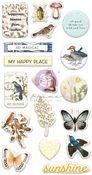 Nature Lover Puffy Stickers - Prima