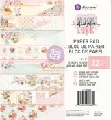 Magic Love 6x6 Paper Pad - Prima