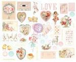 Magic Love Chipboard Stickers - Prima