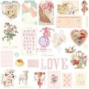 Magic Love Ephemera Set 2 - 29 Pieces - Prima