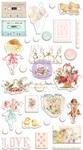 Magic Love Puffy Stickers - Prima