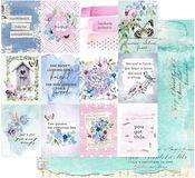 Dreamy Florals Paper - Watercolor Floral - Prima