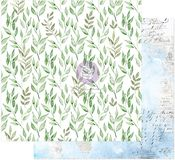 Peaceful Bliss Paper - Watercolor Floral - Prima