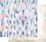 Artful Brushstrokes Paper - Watercolor Floral - Prima