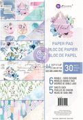 Watercolor Floral A4 Paper Pad - Prima