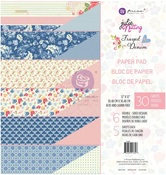 Frayed Denim Julie Nutting 12x12 Paper Pad - Prima