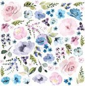 Watercolor Floral Ephemera Set #3 - Prima