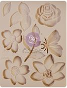 Watercolor Floral Silicone Mould - Prima