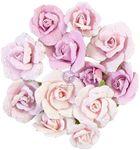 Grey Pigment Flowers - Watercolor Floral - Prima