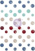 Frayed Denim Say It In Crystals - Julie Nutting - Prima