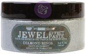 Diamond Rings - Art Extravagance Jewel Texture Paste - Finnabair - Prima
