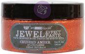 Crushed Amber - Art Extravagance Jewel Texture Paste - Finnabair - Prima