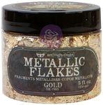 Gold - Art Ingredients Metallic Flakes - Finnabair - Prima