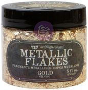 Gold - Art Ingredients Metallic Flakes - Finnabair - Prima