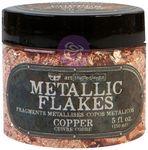 Copper - Art Ingredients Metallic Flakes - Finnabair - Prima