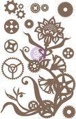 Steampunk Flowers Chipboard - Finnabair - Prima