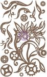 Steampunk Blooms Chipboard - Finnabair - Prima