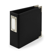 Black 4x4 Classic Leather Album - We R Memory Keepers - PRE ORDER