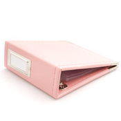 Pretty Pink 4x4 Classic Leather Album - We R Memory Keepers