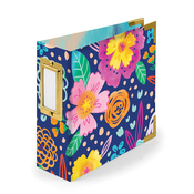 Floral 4x4 Paper Wrapped Album - We R Memory Keepers - PRE ORDER