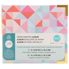 Geometric 4x4 Paper Wrapped Album - We R Memory Keepers