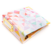 Geometric 4x4 Paper Wrapped Album - We R Memory Keepers - PRE ORDER