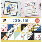 School Time 12x12 Paper Stack - Die Cuts With A View