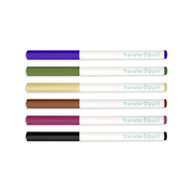 Earth Tones Heat Transfer Pen Set - We R Memory Keepers
