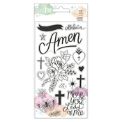Clear Stamp Set - Draw Near - Creative Devotion - American Crafts - PRE ORDER
