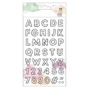 Alphabet Clear Stamp Set - Draw Near - Creative Devotion - American Crafts - PRE ORDER