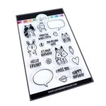 Critter Crew Stamp Set - For Your Crew - Catherine Pooler