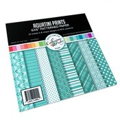 Aquatini Prints Patterned Paper - For Your Crew - Catherine Pooler