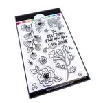 Best Things in Life Floral Stamp Set - For Your Crew - Catherine Pooler