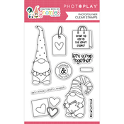 Crafting With My Gnomies Stamp Set - Photoplay