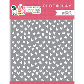 Heart 6x6 Stencil - Crafting With My Gnomies - Photoplay