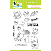 Birds of a Feather Stamp Set - Photoplay