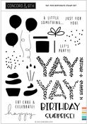 Yay For Birthdays Stamp Set - Concord & 9th - PRE ORDER