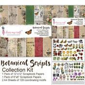 Botanical Scripts Collection Kit - Dress My Craft