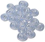 Cinnamon Background Metal Die - Elizabeth Craft Designs - PRE ORDER