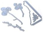 Florals Of Winter Metal Die - Elizabeth Craft Designs