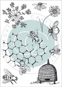 Tell The Bees Special Edition Stamp Set - Craft Consortium