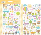 Hippity Hoppity Mini Icon Stickers - Doodlebug